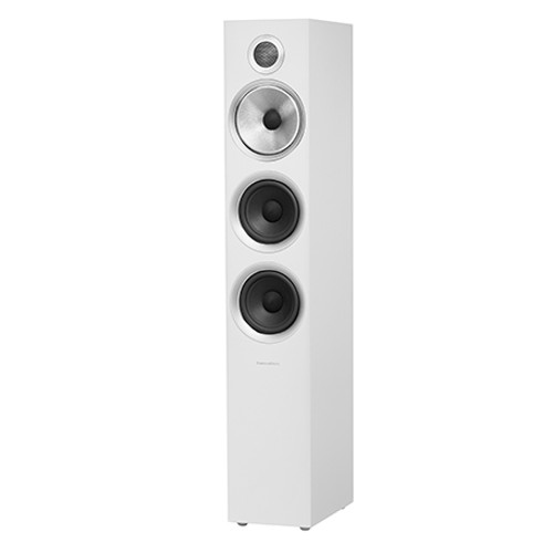 B&W 704 S2 White Floorstanders (Pair)