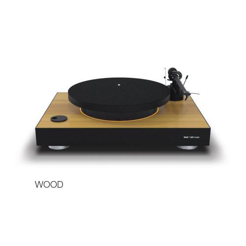 MAG-LEV Audio Turntable Wood