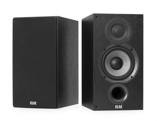 Elac Debut B5.2 Bookshelf Speakers designed by world famous speaker designer Andrew Jones