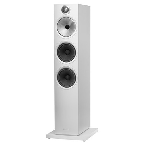 B&W 603 S2 Anniversary Edition Floorstanding Speaker (Pair) - Matte White