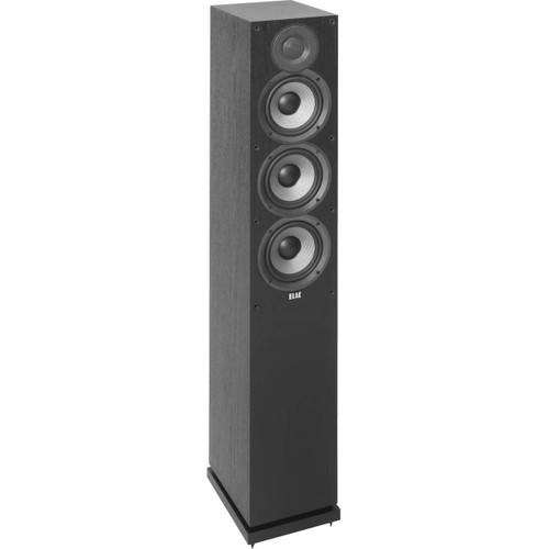 Elac F5.2 Floorstanding Speakers - Black Ash Vinyl