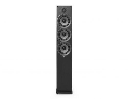 Elac F6.2 Floorstanding Speakers - Black Ash Vinyl
