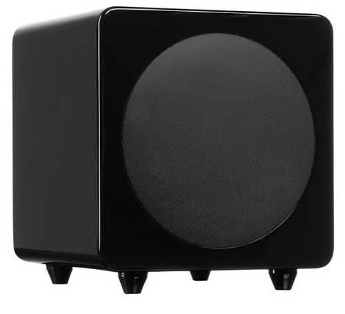 Kanto Audio Sub 8 Powered Subwoofer- Gloss Black