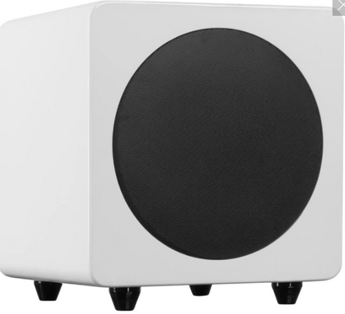 Kanto Sub 8 Powered Subwoofer- Gloss White
