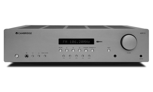 Cambridge Audio AXR 85 high powered Stereo Receiver with Bluetooth and turntable input