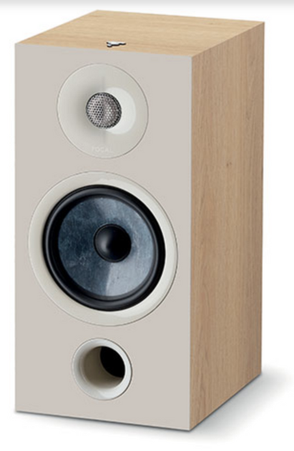 Focal Chora 806 Light Wood Bookshelf Speakers