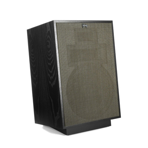 Klipsch Heresy IV Floorstanding Speakers Satin Black Ash