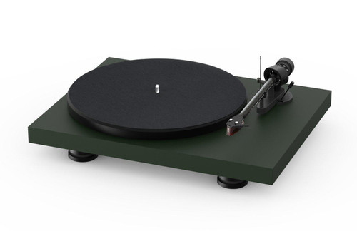 Project Audio Debut Carbon EVO Acryl Turntable - Satin Fir Green