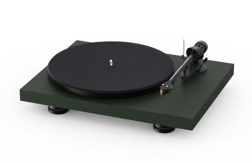 Project Audio Debut Carbon EVO Acryl Turntable - Satin Fir Green