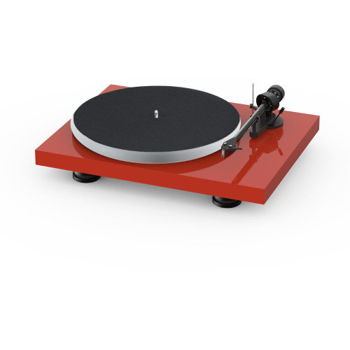 Project Audio Debut Carbon EVO Acryl Turntable - High Gloss Red