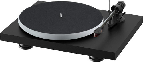 Project Audio Debut Carbon EVO Acryl Turntable - Satin Black