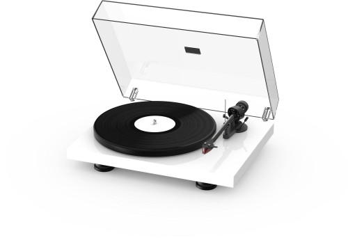 Project Debut Carbon Evo Turntable - High Gloss White