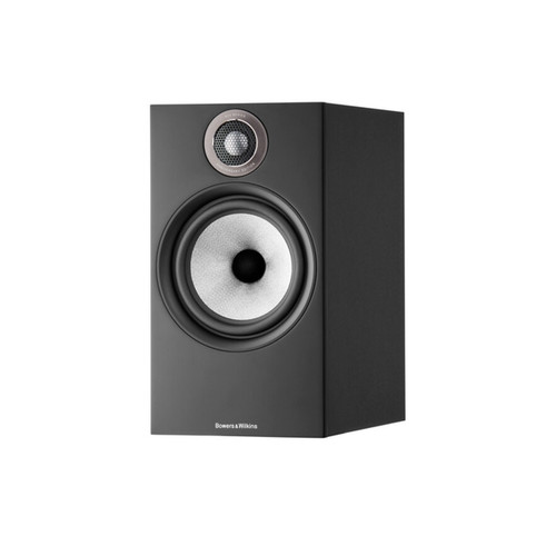 B&W 606 S2 Anniversary Edition Bookshelf Speaker (Pair) - Matte Black