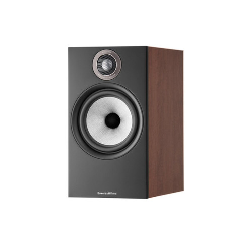 B&W 606 S2 Anniversary Edition Bookshelf Speaker (Pair) - Red Cherry