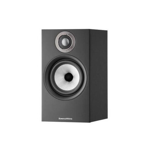 B&W 607 S2 Anniversary Edition Bookshelf Speaker (Pair) - Matte Black
