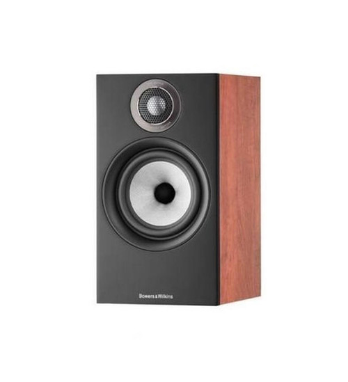 B&W 607 S2 Anniversary Edition Bookshelf Speaker (Pair) - Red Cherry