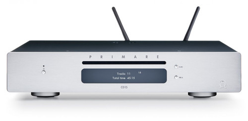 Primare CD15 Prisma CD and Network Player - Titanium
