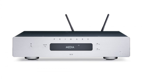 Primare SC15 Prisma Preamplifier and Network Player - Titanium