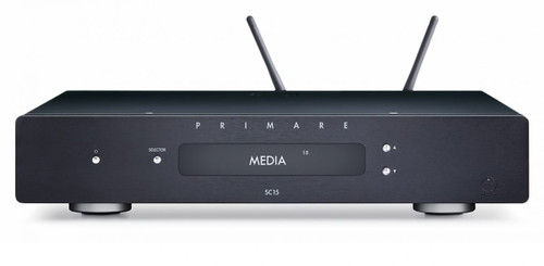 Primare SC15 Prisma Preamplifier and Network Player - Black