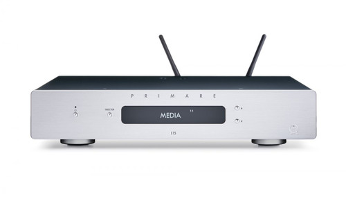 Primare I15 Integrated Amplifier/ Network Player - Titanium