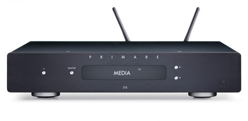 Primare I15 Integrated Amplifier/ Network Player - Black