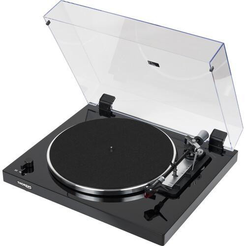 Thorens TD 103 A Fully Automatic Turntable (Fitted Ortofon 2M Red) - Black