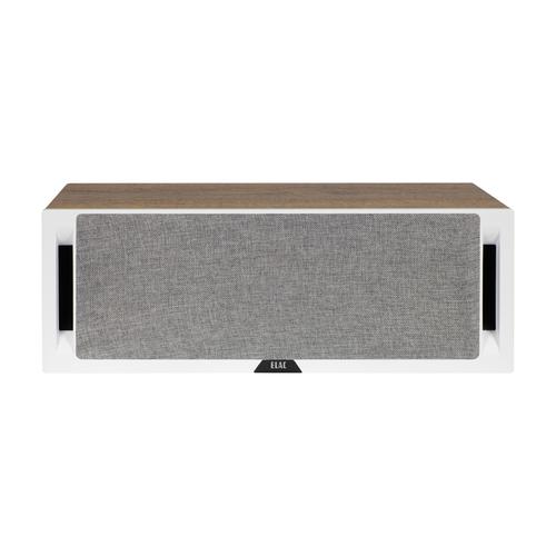 Elac DCR52 Centre Channel Speaker White Baffle Oak Cabinet
