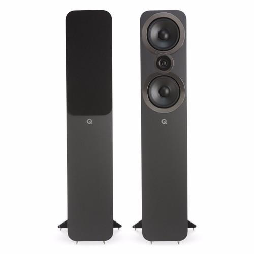 Q Acoustics 3050i Bookshelf Speakers Graphite Grey (Pair)