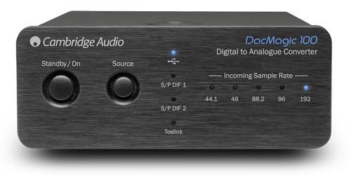 Cambridge Audio DacMagic 100 Digitial to Analog Converter - Black