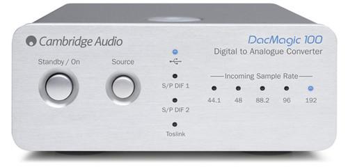 Cambridge Audio DacMagic 100 Digitial to Analog Converter - Silver