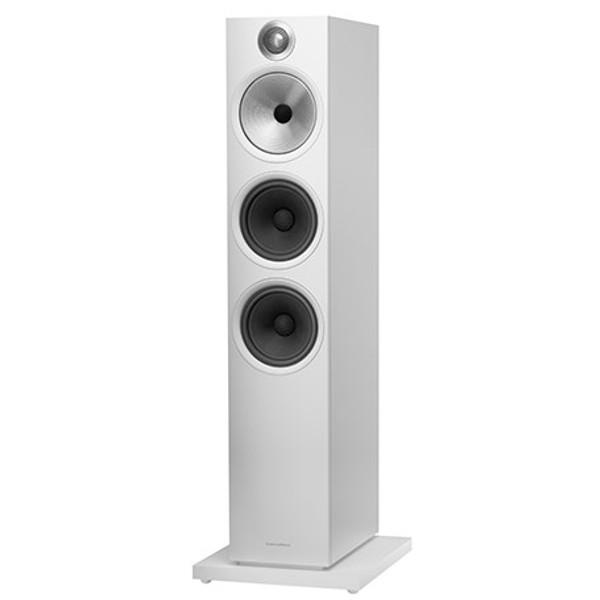 B&W 603 S2 Anniversary Edition Floorstanding Speaker (Pair) - Matte White