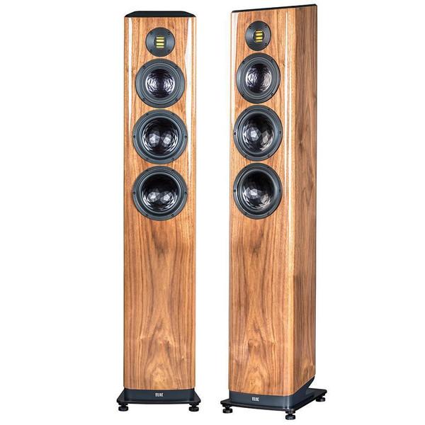 Elac Vela FS 409 Floorstanding Speakers - Walnut