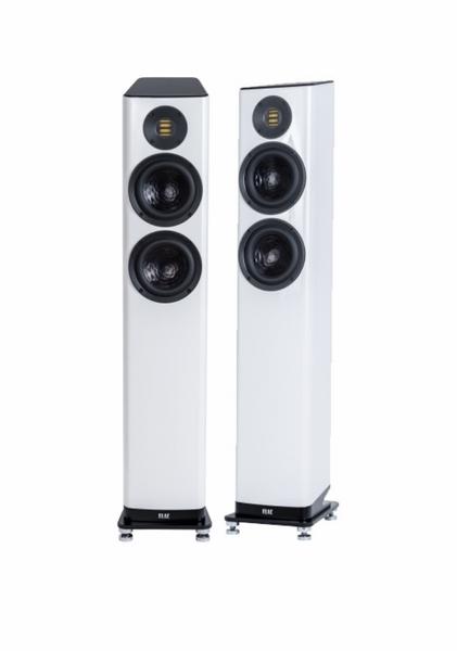 Elac Vela FS 407 Floorstanding Speakers - Gloss White