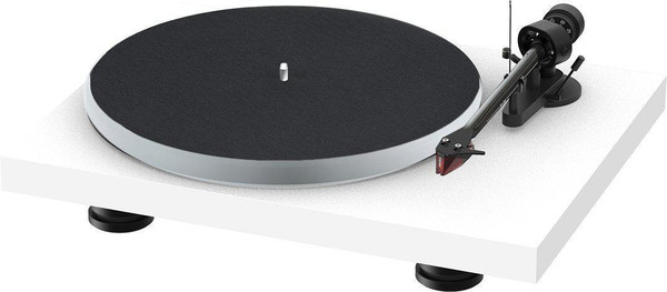 Project Audio Debut Carbon EVO Acryl Turntable - Satin White