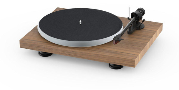 Project Audio Debut Carbon EVO Acryl Turntable - Walnut