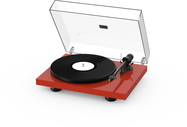 Project Debut Carbon Evo Turntable - High Gloss Red