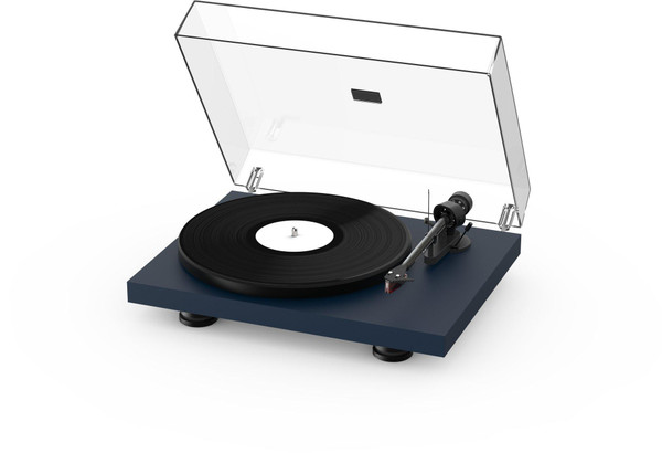 Project Debut Carbon Evo Turntable - Satin Steel Blue