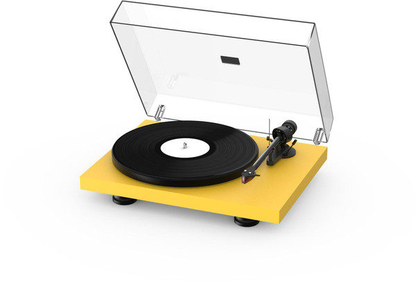 Project Debut Carbon Evo Turntable - Satin Gold Yellow