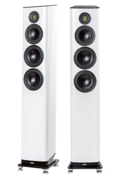 Elac Vela FS 409 Floorstanding Speakers - Gloss White