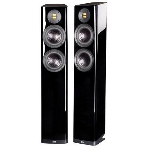 Elac Vela FS 407 Floorstanding Speakers - Gloss Black