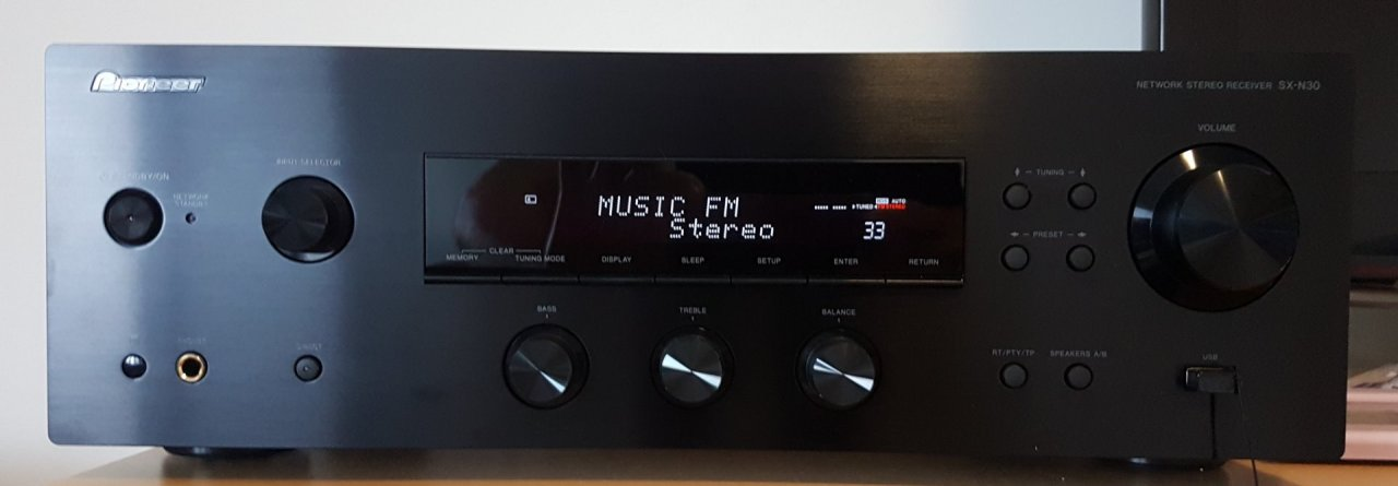 Pioneer SX-N30AE Network Stereo Receiver-An Excellent Solution