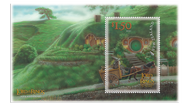 New stamps celebrate Lord of the Rings twenty-year anniversary, hand painted by artist Sacha Lees