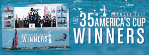 2017 America's Cup Stamp Sheet