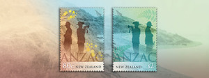 Anzac 2015 - New Zealand and Australia Joint Issue