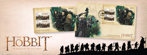 The Hobbit Personalised Stamps