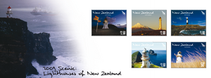 2009 Scenic - Lighthouses of New Zealand