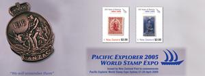 Pacific Explorer 2005 World Stamp Expo
