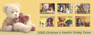 2000 Children's Health - Bears and Dolls