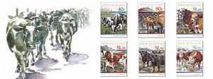 1997 Year of the Ox - New Zealand Cattle