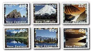 1996 Self-adhesive Scenic Definitives